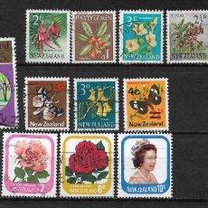Sellos: NUEVA ZELANDA LOTE SELLOS - 15/12. Lote 191968423