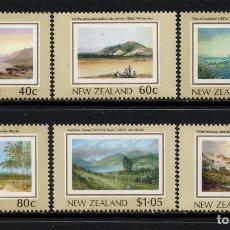 Sellos: NUEVA ZELANDA 1004/09** - AÑO 1988 - PAISAJES - HERITAGE NEOZELANDES. Lote 192569066