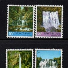 Sellos: NUEVA ZELANDA 665/68** - AÑO 1976 - SALTOS DE AGUA. Lote 192907675