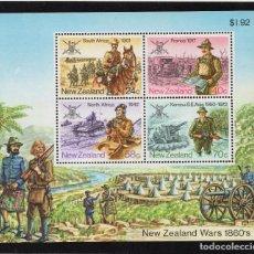 Sellos: NUEVA ZELANDA HB 51** - AÑO 1984 - HISTORIA MILITAR DE NUEVA ZELANDA. Lote 194073697