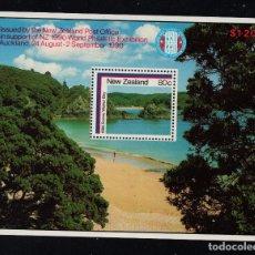 Sellos: NUEVA ZELANDA HB 54** - AÑO 1986 - TURISMO - PAISAJES. Lote 194073810