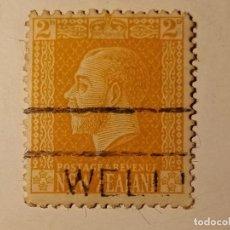 Sellos: NUEVA ZELANDA 1916 REY JORGE V. Lote 195884937