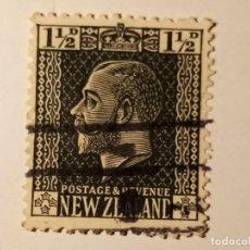 Sellos: NUEVA ZELANDA 1915 REY JORGE V. Lote 195888790