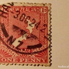 Sellos: 1923 MAPA DE NUEVA ZELANDA. Lote 195889475