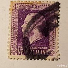 Sellos: NUEVA ZELANDA 1916 REY JORGE V. Lote 195897832