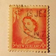 Sellos: NUEVA ZELANDA 1954 RENA ELISABETH II. Lote 195898313