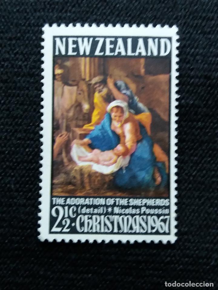 NUEVA ZELANDA, 1,1/2C, CHRISTMAS, AÑO 19067, NUEVO. (Sellos - Extranjero - Oceanía - Nueva Zelanda)