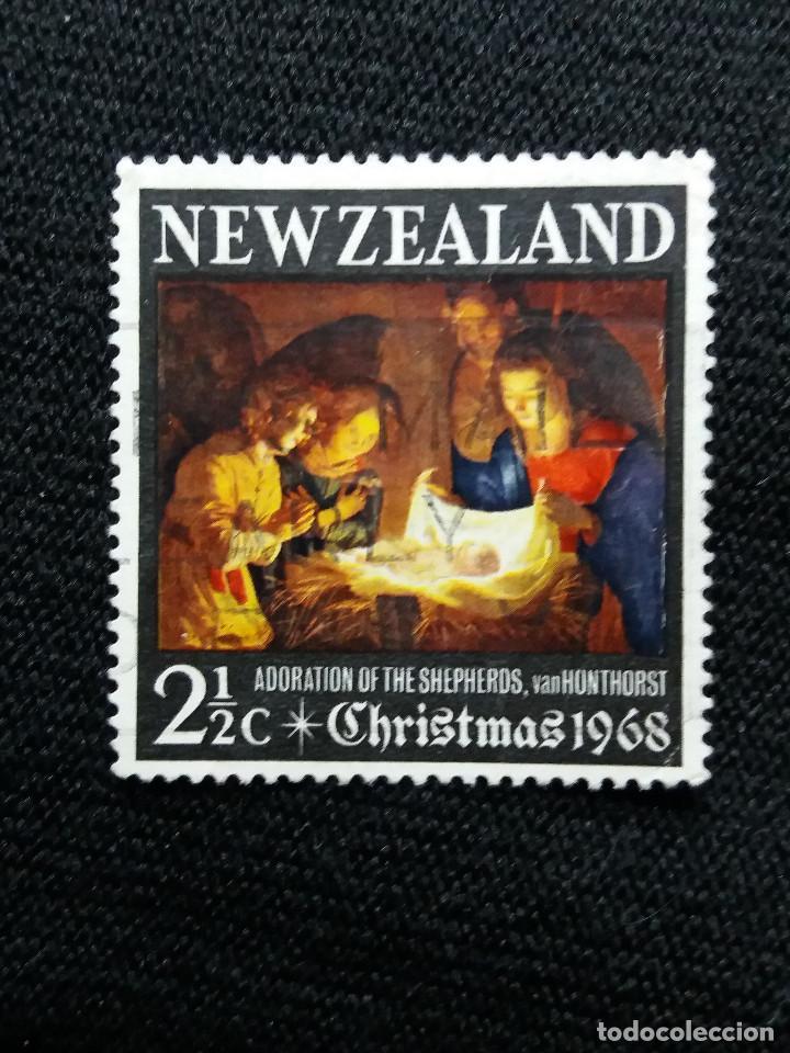 NUEVA ZELANDA, 2,1/2C, CHRISTMAS, AÑO 1968, NUEVO. (Sellos - Extranjero - Oceanía - Nueva Zelanda)