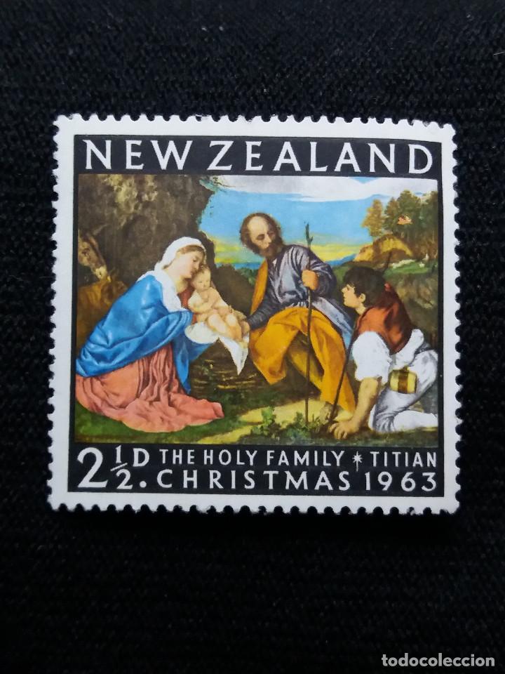 NUEVA ZELANDA, 2,1/2C, CHRISTMAS, AÑO 1963, NUEVO. (Sellos - Extranjero - Oceanía - Nueva Zelanda)
