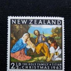 Sellos: NUEVA ZELANDA, 2,1/2C, CHRISTMAS, AÑO 1963, NUEVO.. Lote 203822687