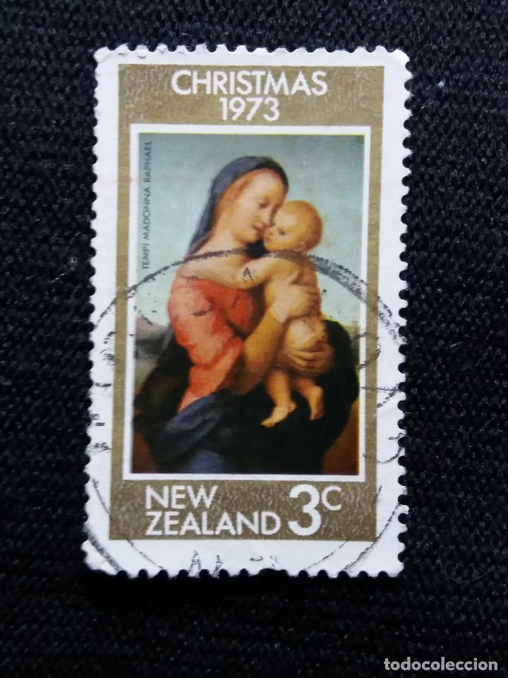 NUEVA ZELANDA, 3C, CHRISTMAS, AÑO 1973, SIN USAR (Sellos - Extranjero - Oceanía - Nueva Zelanda)