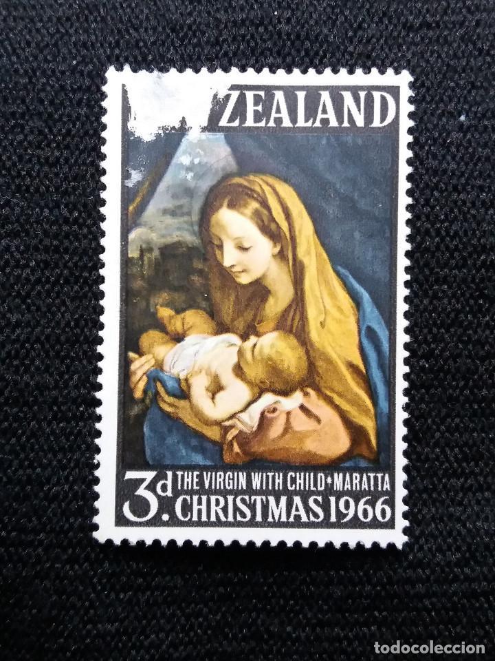 NUEVA ZELANDA, 3 D, CHRISTMAS, AÑO 1966,. (Sellos - Extranjero - Oceanía - Nueva Zelanda)