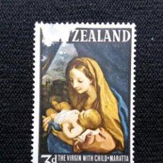 Sellos: NUEVA ZELANDA, 3 D, CHRISTMAS, AÑO 1966,.. Lote 203823832