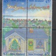 Sellos: NUEVA ZELANDA 1992 IVERT 1198/201 *** NAVIDAD. Lote 206253806