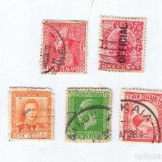 Sellos: LOTE DE SELLOS USADOS ANTIGUOS DE NUEVA ZELANDA. Lote 209306821