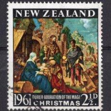 Sellos: NUEVA ZELANDA 1961 CTO MICHEL 419. Lote 210013450