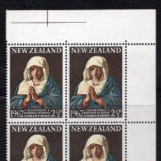 Sellos: NUEVA ZELANDA 1962 BLOQUE MNH MICHEL 424. Lote 210013540