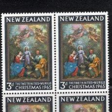 Sellos: NUEVA ZELANDA 1965 BLOQUE MNH MICHEL 445. Lote 210013641