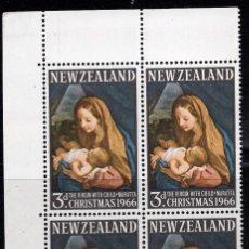 Sellos: NUEVA ZELANDA 1966 BLOQUE MNH MICHEL 453. Lote 210013705
