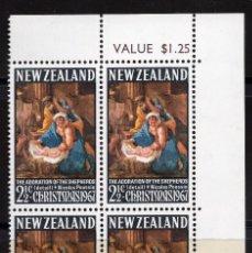 Sellos: NUEVA ZELANDA 19675 BLOQUE MNH MICHEL 477. Lote 210013752