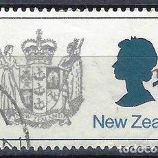 Timbres: NUEVA ZELANDA 1970-76 - ESCUDO DE ARMAS - SELLO USADO. Lote 211148179