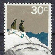 Sellos: NUEVA ZELANDA 1970-76 - PARQUE NACIONAL COOK - SELLO USADO. Lote 211186505