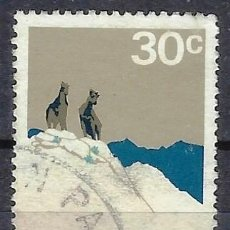 Sellos: NUEVA ZELANDA 1970-76 - PARQUE NACIONAL COOK - SELLO USADO. Lote 211189216