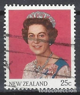 NUEVA ZELANDA 1985 - ISABEL II - SELLO USADO (Sellos - Extranjero - Oceanía - Nueva Zelanda)