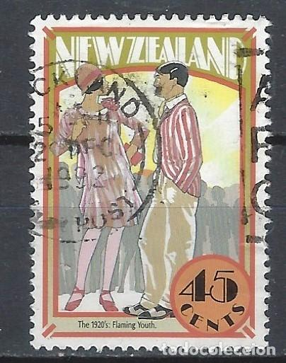 NUEVA ZELANDA 1992 - NUEVA ZELANDA EN LA DÉCADA DE LOS 20 - SELLO USADO (Sellos - Extranjero - Oceanía - Nueva Zelanda)