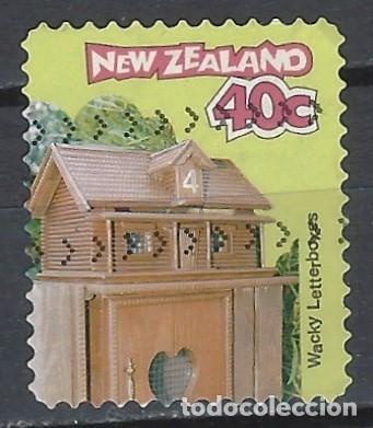 NUEVA ZELANDA 1997 - BUZONES CURIOSOS - SELLO USADO (Sellos - Extranjero - Oceanía - Nueva Zelanda)