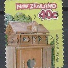Sellos: NUEVA ZELANDA 1997 - BUZONES CURIOSOS - SELLO USADO. Lote 211259267