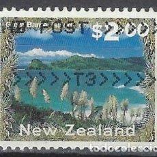Sellos: NUEVA ZELANDA 2000 - TURISMO, GRAN BARRERA - SELLO USADO. Lote 211259467