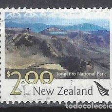 Sellos: NUEVA ZELANDA 2003 - TURISMO, PARQUE NACIONAL TONGARIRO - SELLO USADO. Lote 211259760
