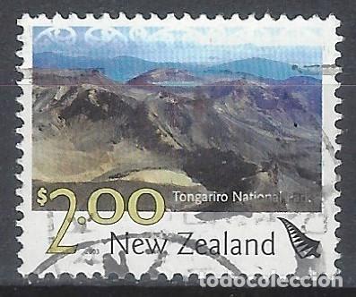 NUEVA ZELANDA 2003 - TURISMO, PARQUE NACIONAL TONGARIRO - SELLO USADO (Sellos - Extranjero - Oceanía - Nueva Zelanda)