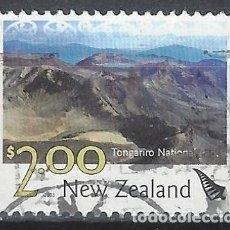 Sellos: NUEVA ZELANDA 2003 - TURISMO, PARQUE NACIONAL TONGARIRO - SELLO USADO. Lote 211259774