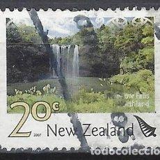 Sellos: NUEVA ZELANDA 2007 - TURISMO, CATARATAS RAINBOW - SELLO USADO. Lote 211260101