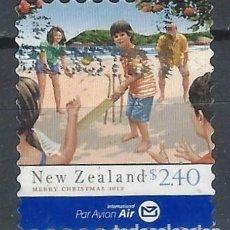 Sellos: NUEVA ZELANDA 2013 - NAVIDAD - SELLO USADO. Lote 211261801