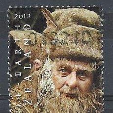 Sellos: NUEVA ZELANDA 2012 - EL HOBBIT, UN VIAJE INESPERADO, RADAGAST - SELLO USADO. Lote 211263172