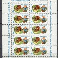 Sellos: NUEVA ZELANDA 1975 - HB SELLOS DE SALUD EN BLOQUE DE 10 - NUEVOS **. Lote 211263747