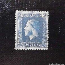 Sellos: SELLO POSTAL DE NUEVA ZELANDA REY JORGE V, 1915. Lote 211839438