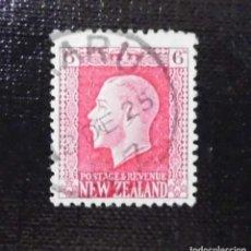 Sellos: 1915 NUEVA ZELANDA, REY JORGE V, 6P, 1865-1936. Lote 212026100