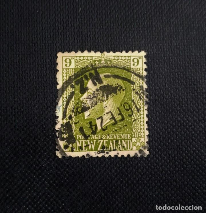 SELLO DE NUEVA ZELANDA 1915, REY GEORGE V (Sellos - Extranjero - Oceanía - Nueva Zelanda)
