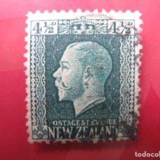 Sellos: +NUEVA ZELANDA, 1915, JORGE V, YVERT 155. Lote 222578517