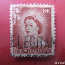 Sellos: +NUEVA ZELANDA, 1954, ISABEL II, YVERT 329. Lote 222586327