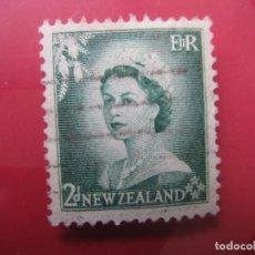 Sellos: +NUEVA ZELANDA, 1954, ISABEL II, YVERT 330. Lote 222586851