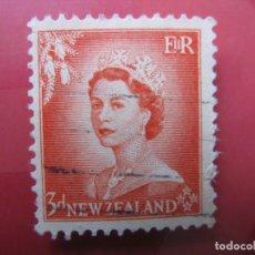 Sellos: +NUEVA ZELANDA, 1954, ISABEL II, YVERT 331. Lote 222586993