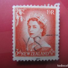 Sellos: +NUEVA ZELANDA, 1954, ISABEL II, YVERT 331. Lote 222587095