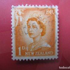 Sellos: +NUEVA ZELANDA, 1956, ISABEL II, YVERT 352. Lote 222587755