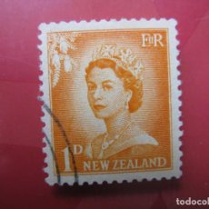 Sellos: +NUEVA ZELANDA, 1956, ISABEL II,YVERT 352. Lote 222587910