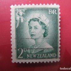 Sellos: +NUEVA ZELANDA, 1956, ISABEL II, YVERT 354. Lote 222588060